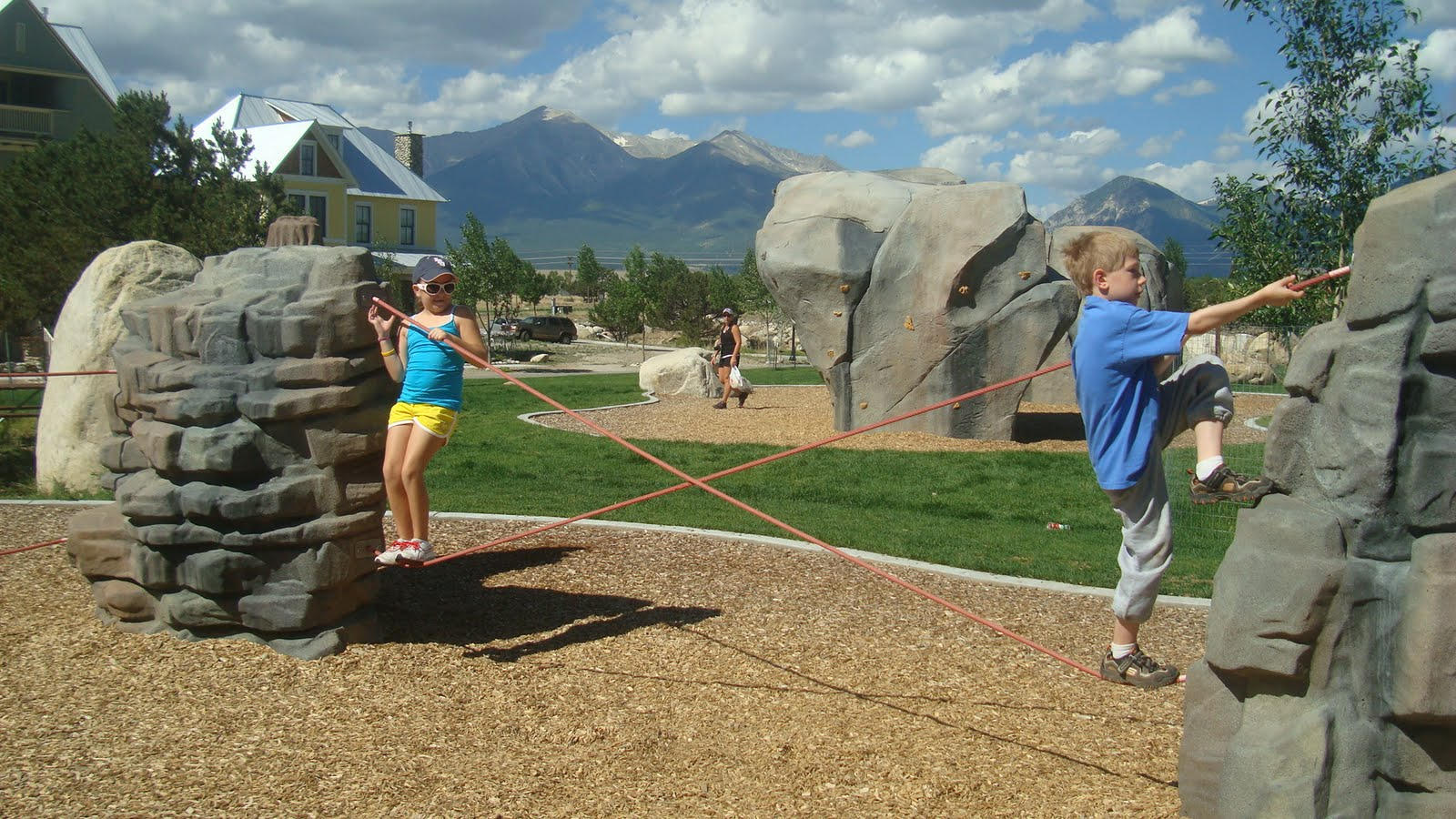 Our Grandchildren Loved Playing At This Park In Buena Vista.