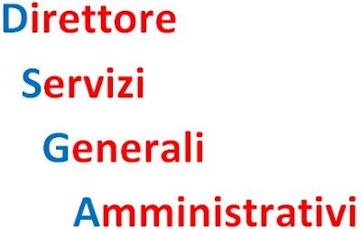 sostituzione DSGA - direttore servizi generali amministrativi