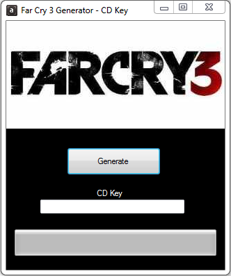 Far Cry 3 Activation Key Generator