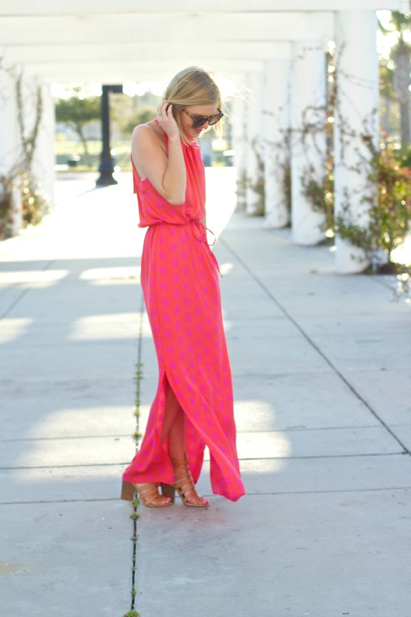 escapada living alice maxi dress