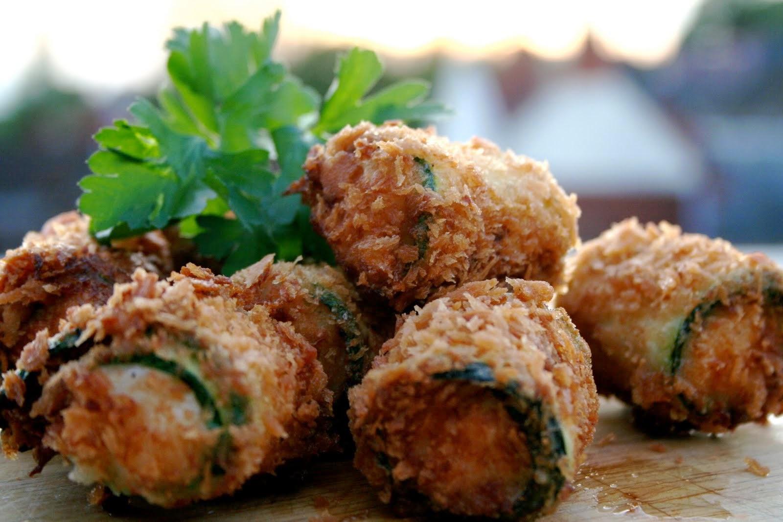 Zucchini Crab Fritters