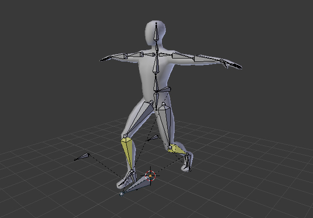 Blender Character Modeling 8 Of 10 : Building a basic low poly character rig in blender cg