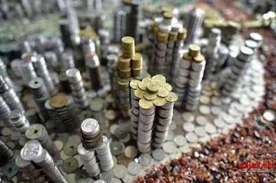 قطع نقدية؛ الفن، عالم العجائب