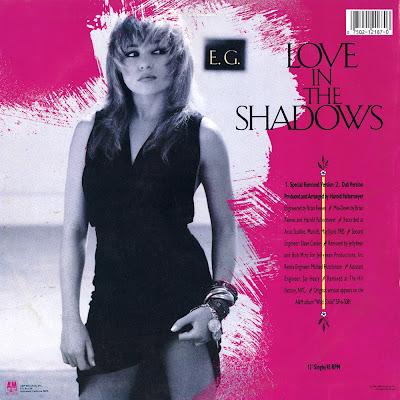 "RETRO DISCO HI-NRG: E.G. DAILY ""Love In The Shadows"" (12 ..."
