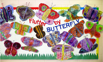 Pastel Resist Butterflies