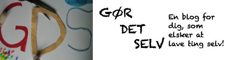 GDS - Gør Det Selv!