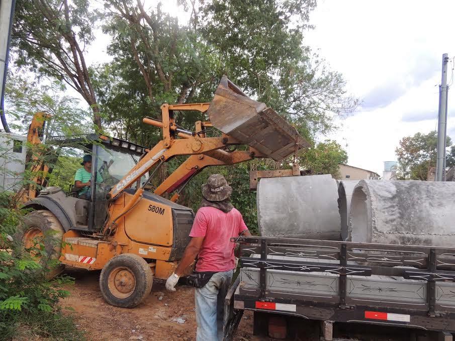 Barra do Garças: Prefeitura inicia obras para diminuir pontos de alagamentos