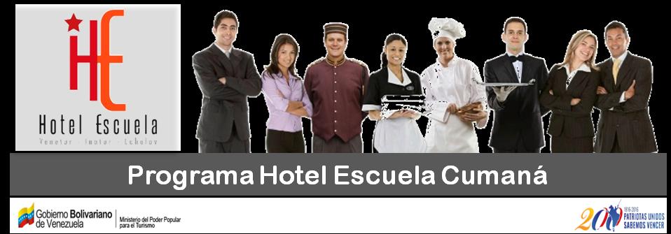 Programa Hotel Escuela Cumaná