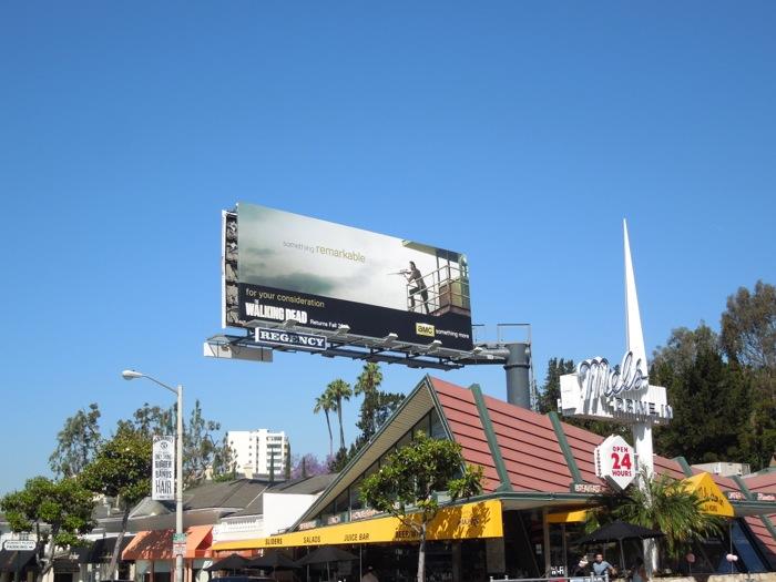 Walking Dead 3 Something remarkable billboard