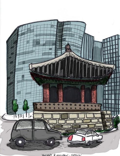 seoul sketch