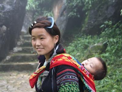 Étnica Miao Hmong Sapa (Vietnã)