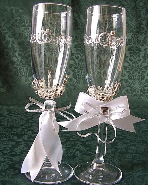 Como decorar copas para bodas | DTODOMANUALIDADES...................