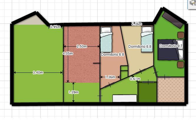 Planos Low Cost De Dos Dormitorios A Tres
