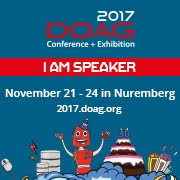 Speaking at DOAG 2017