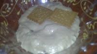 helado con galletas