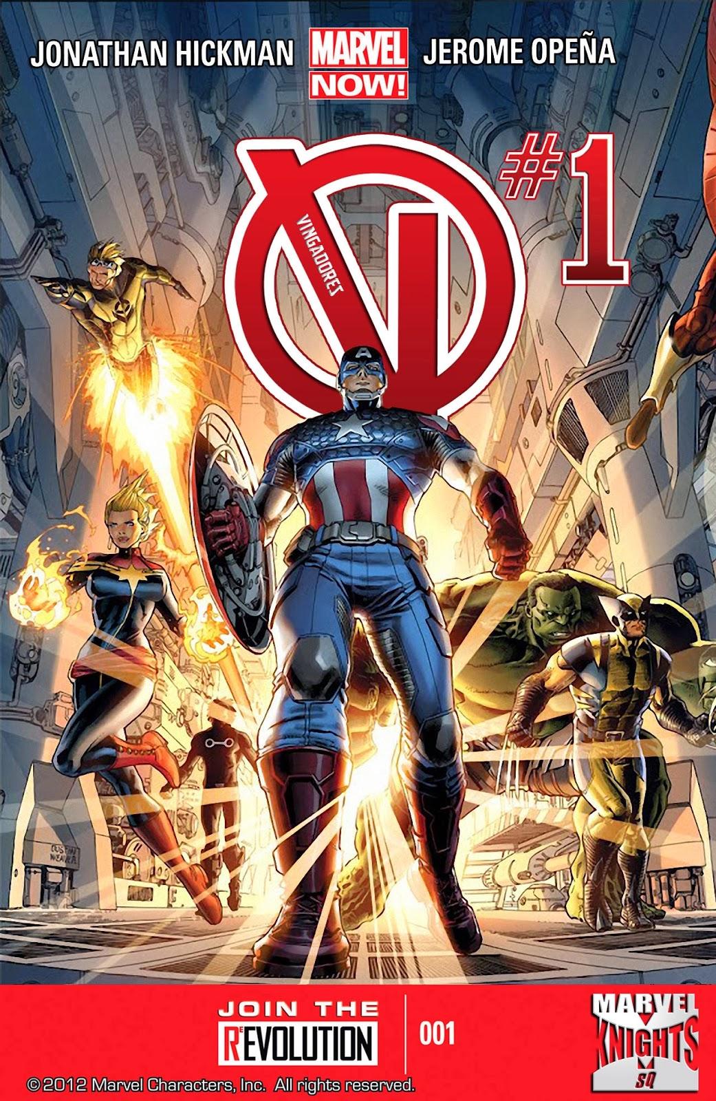 Nova Marvel! Vingadores v5 #1