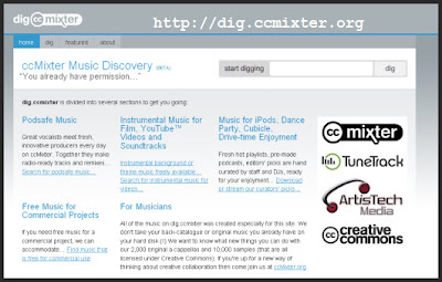 CCMixter Search Engine