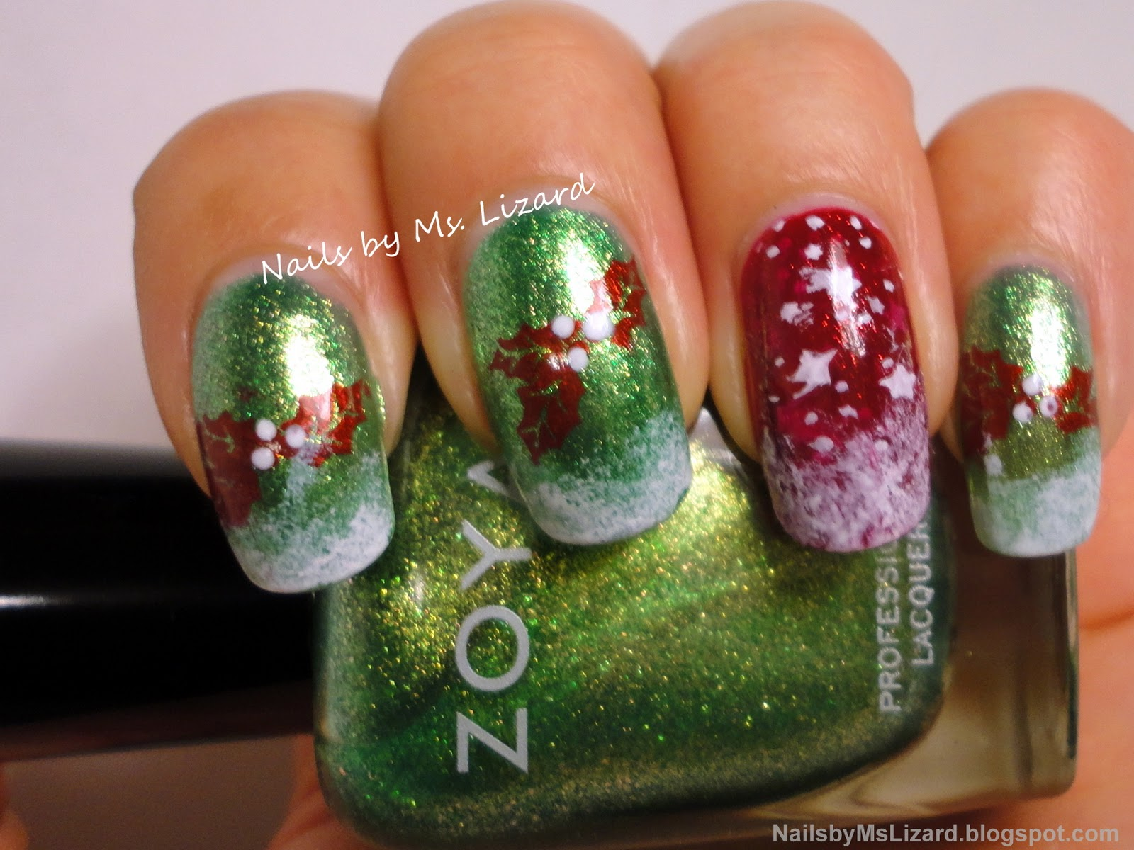 Nails by Ms. Lizard: December 2011