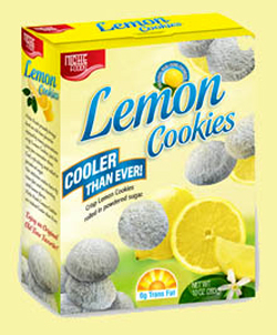 The Great Cookie Cover: L = Lemon Blizzard Cookies