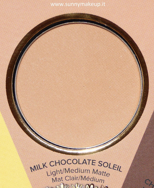 Too Faced - The Little Black Book di Bronzer. Milk Chocolate Soleil.