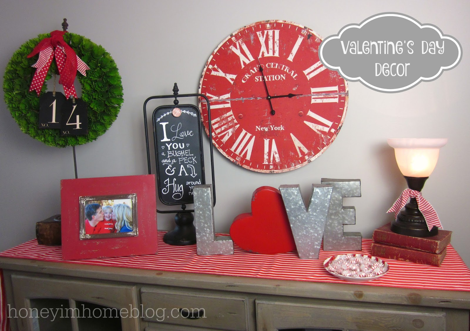 sweet valentines day decor - Valentines Day Decor