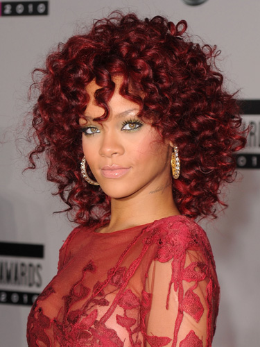 rihanna red hair rihanna hairstyles rihanna hair 2011