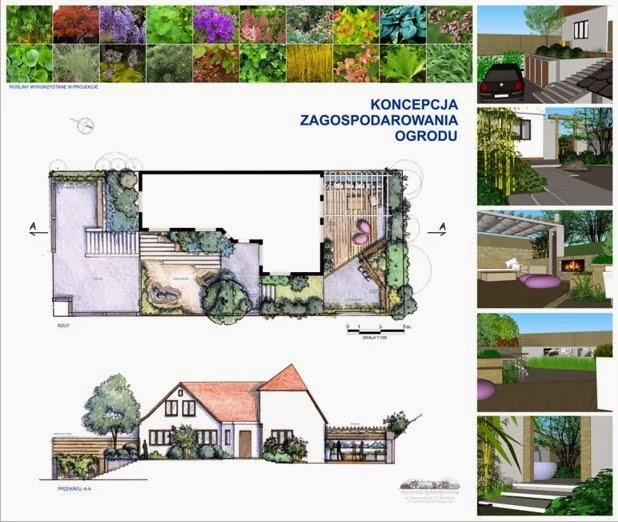 Niektóre z naszych ponad 200 projektów:   Gdańsk ogród prywatny