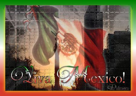 Postal viva México