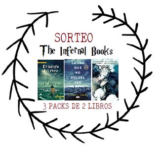 THE INFERNAL BOOKS CUMPLE 2 AÑOS: ¡SORTEO!