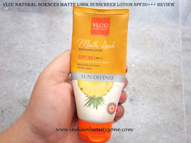 Matte look sunscreens for oily skin