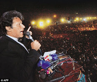 Imran Khan Cricketer to Politician