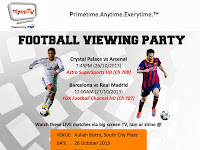 HyppTV Football Flyaway Contest