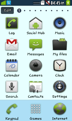 Download Android Gingerbread Theme for bada - wave Crazy Buddy