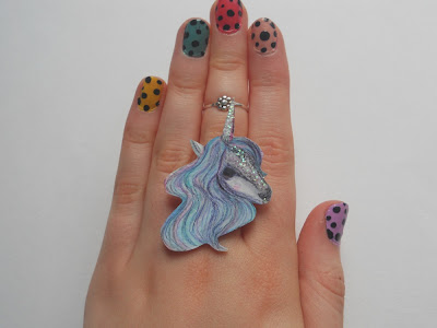 Jewellery by Jaymie unicorn ring