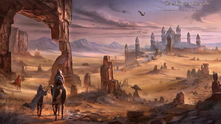 Elder Scrolls Online Alikr Desert