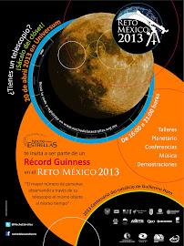 20 de abril de 2013, México: 2,978 telescopios viendo simultáneamente la luna