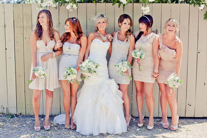 The Secrets of Successful Mismatched Bridesmaids 3.0 - Belle The ...
