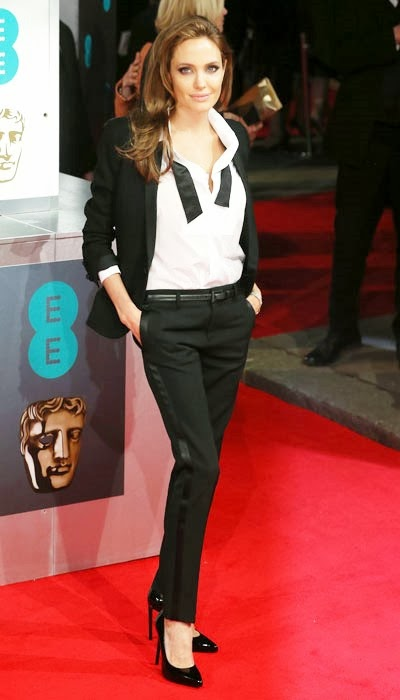 Angelina Jolie's 2014 BAFTA Awards