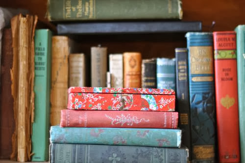Lovely old and pretty books