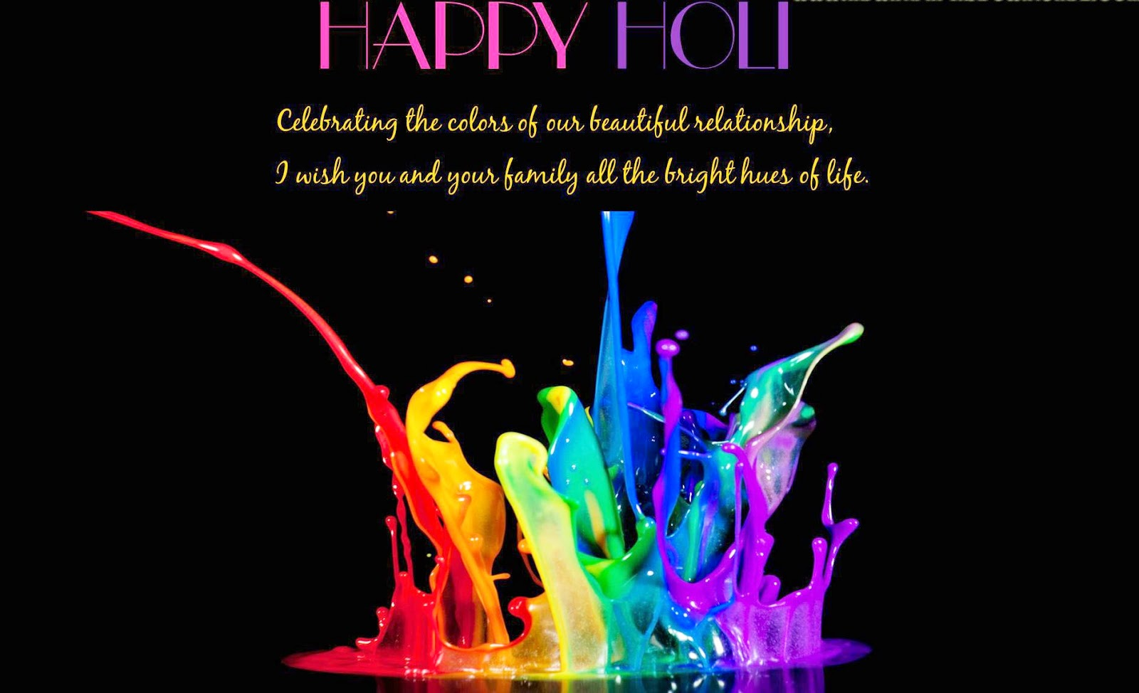 Beautiful Holi Colourful Pictures