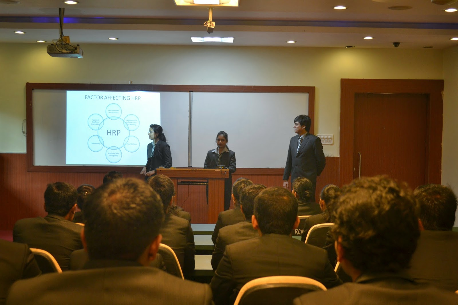 RCM MBA Students