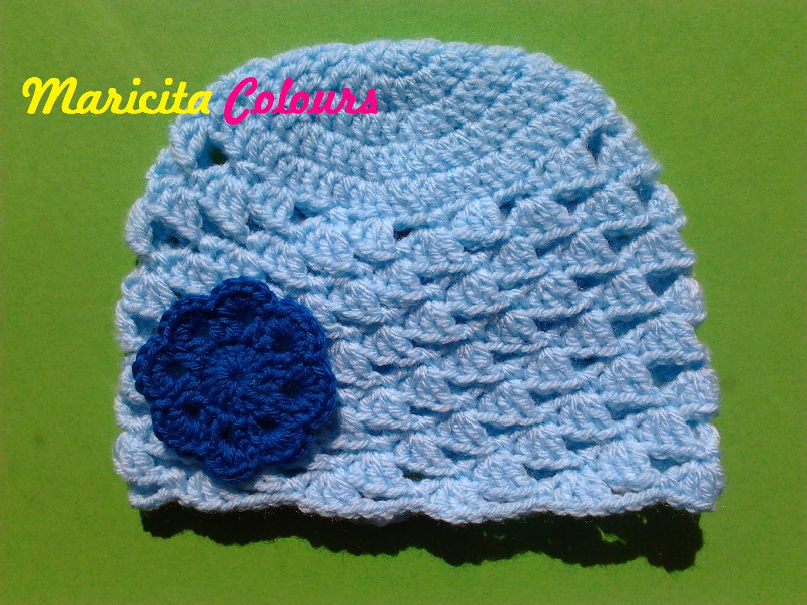 Tejidos Por Maricita Colours Crochet Häkeln Gorro Para Bebe Baby