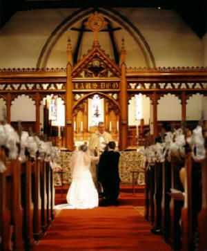Homosexual marriage in church
