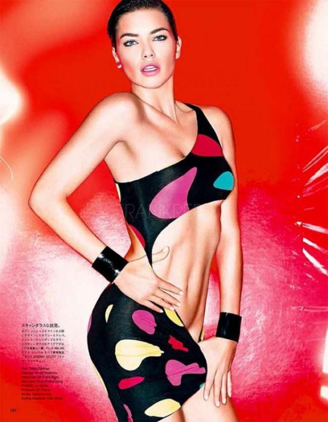 Adriana Lima para Vogue Magazine de Japón marzo 2014