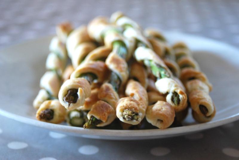 asparagi in crosta aperitivo e contorno
