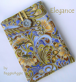Ladies' floral Kindle case, nexus 7 cover, nook sleeve, UK, baggieaggie.