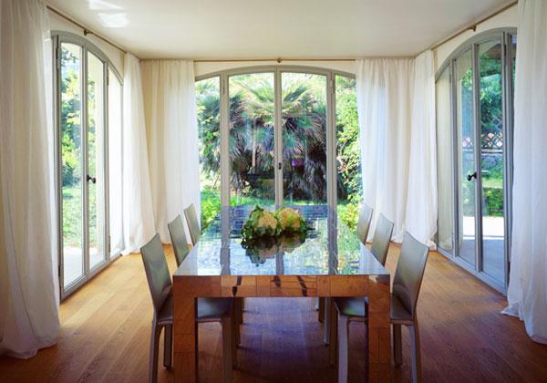 Brillante interiors how to have beautiful windows - Tende per finestre grandi ...