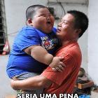 ate que um dia o madimbu se transformou em um criança e comeu o seu pai