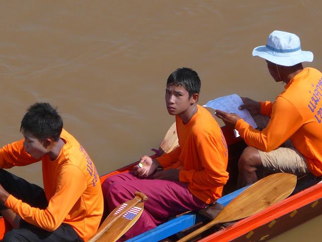 Cute boat racer in Nong Khai