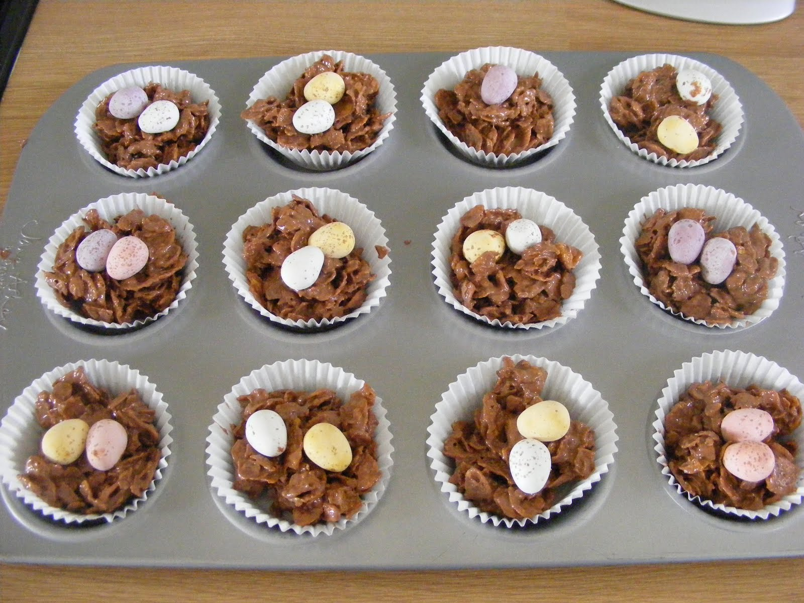 Adventures play making easter nests leave them to set and they are ready for you to enjoy these would make a lovely gift for children to give to friends and family this easter negle Choice Image